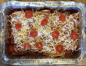 Freezer safe enchiladas