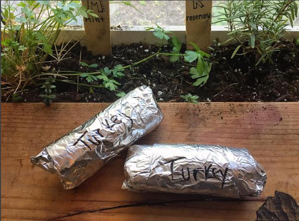 Freezer Burritos: Turkey & Black Bean