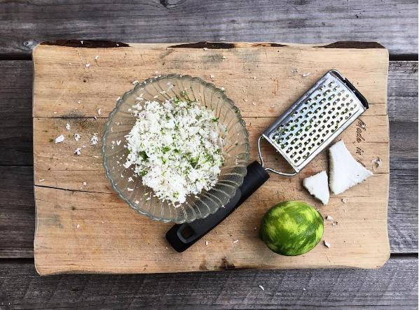 Coconut Lime Shavings