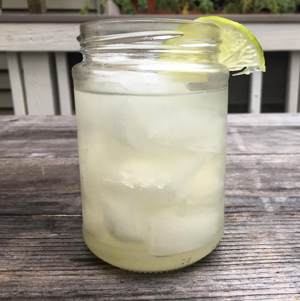 Coconut Lime Water