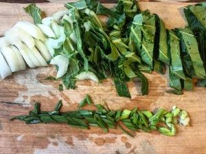 Bok Choy + Green Onion