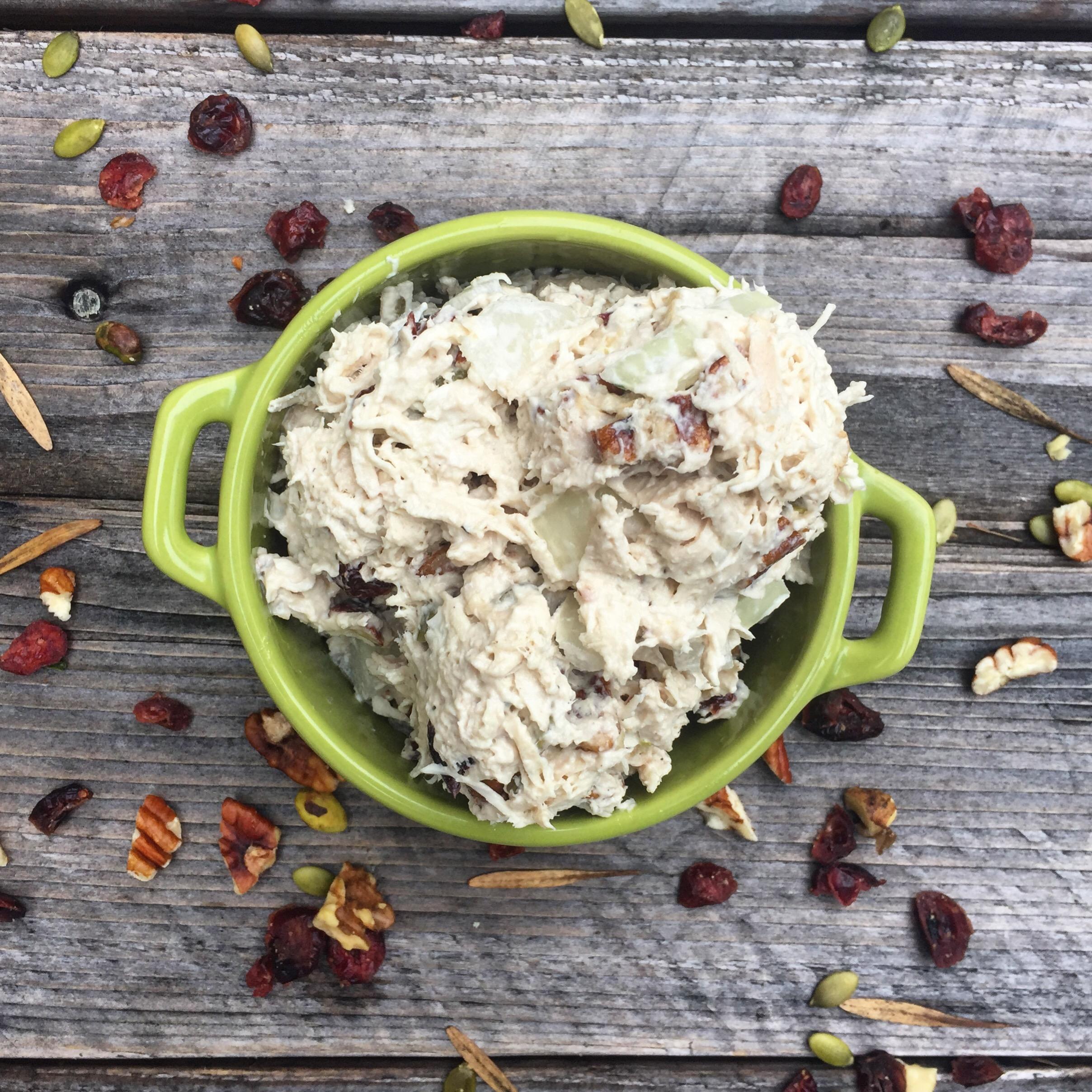 Cranberry Nut Chicken Salad