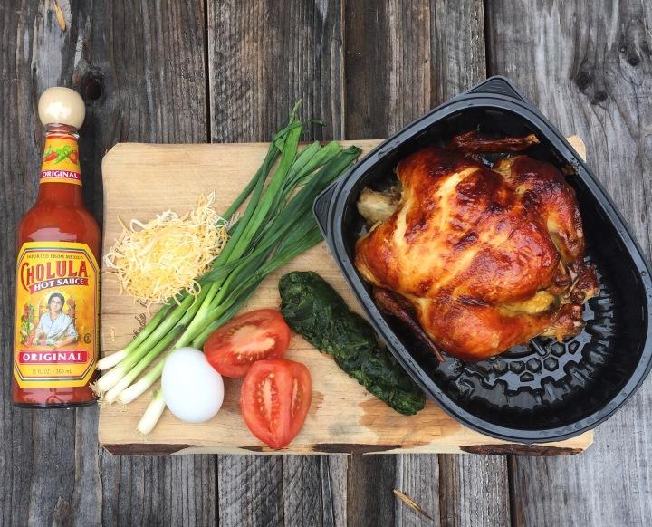 Cholula Chicken Frittata