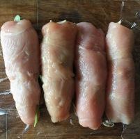 Healthier Chicken Cordon Bleu