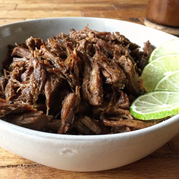 Spicy Slow Cooker Barbacoa Beef